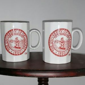 Other - University of Oklaoma,  OU 2 coffee cups